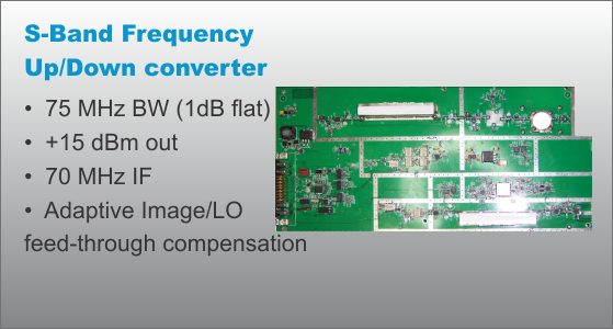 S-Band Up/Down converter